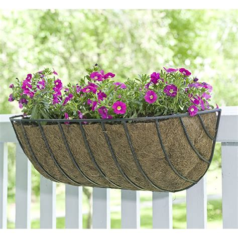 Cobraco Planters cobraco black 36 inch canterbury trough planter htcb36 b plant stands