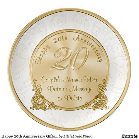 Wedding Anniversary Gift Names by Best 25 20th Wedding Anniversary Gifts Ideas On