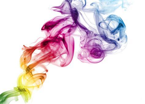 colorful cigarettes smoke colorful rainbow smoke stock image image of