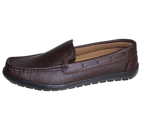 walking loafers mens slipon boat deck mocassin comfort walking loafers