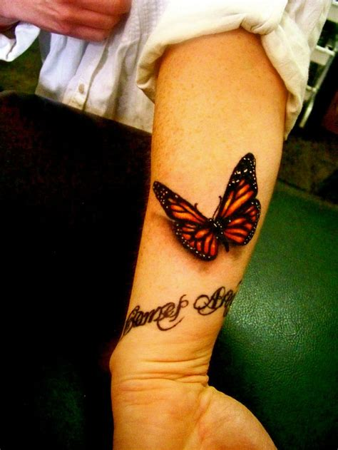wrist butterfly tattoos 15 3d butterfly designs you may