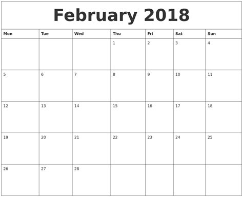 Google Sheets Calendar Template 2018 19