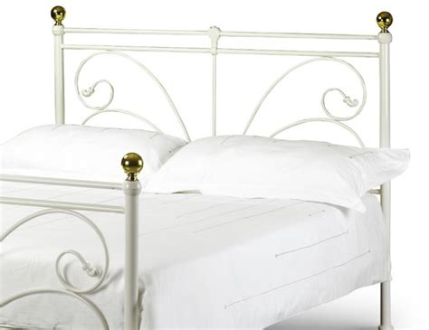Cadiz Bed Frame Cadiz White Metal Bed Frame