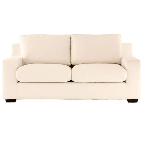 oka sofas saville 2 5 seater sofa bed cream oka