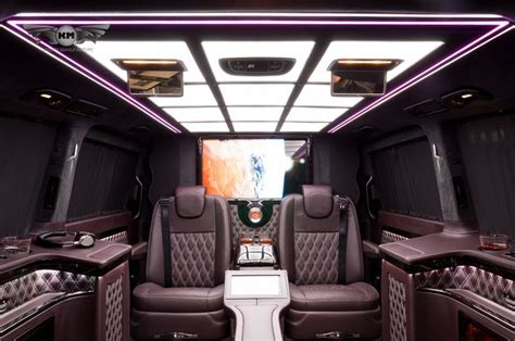Vip Car Interior Design by New Mercedes V Class V250 With Exclusive Business