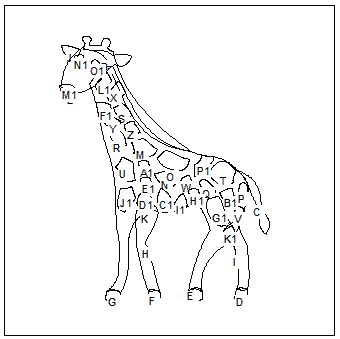 template of giraffe search results for giraffe cut out template calendar 2015