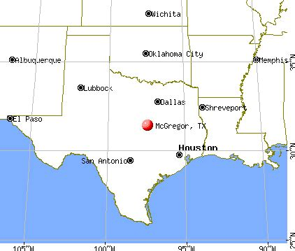 mcgregor texas map mcgregor texas tx 76561 76657 profile population maps real estate averages homes
