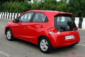 honda brio 2016 honda brio review specs photos details rushlane