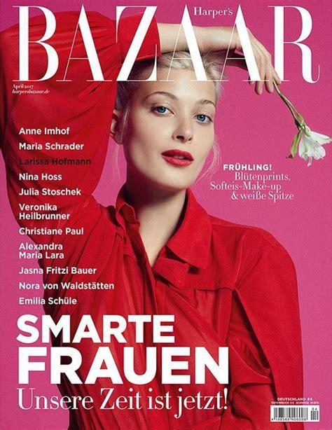 In Harpers Bazaar 2 by Larissa Hofmann For S Bazaar Germany April 2017