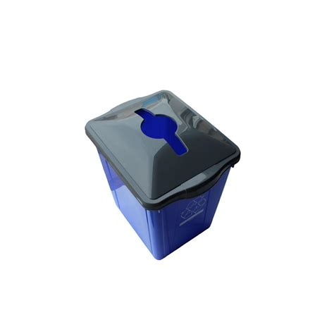 Ecopod E1 Home Recycling Center 2 by Polyethylene Recycling Bins Trash Recycling The