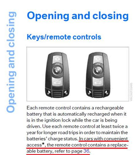 bmw comfort access not working non comfort access key battery life