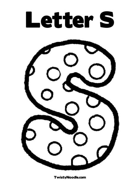 Letter S Coloring Page Az Coloring Pages Coloring Pages Of Letter S