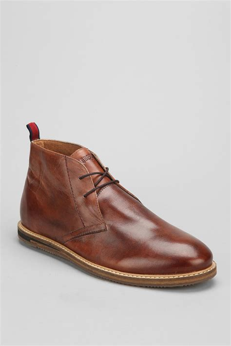 outfitters ben sherman aberdeen leather chukka boot