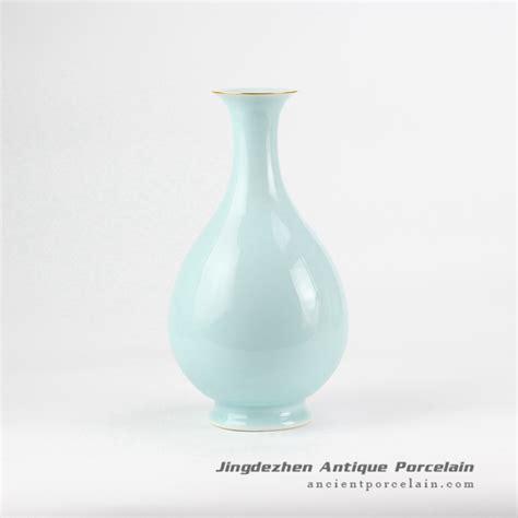 Mint Green Vase by Rzjr07 Mint Green Refined Pear Shape Ceramic Artificial
