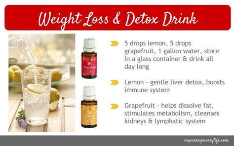 Essential Detox Drink by New Year New You With Essential Oils And A Holistic