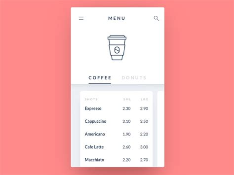 design inspiration list list design in mobile user interfaces 26 designs