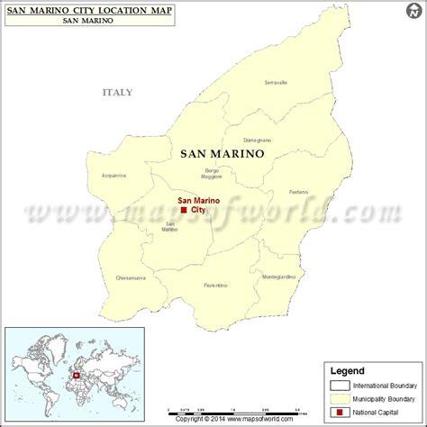 san marino on world map where is san marino city location of san marino city in