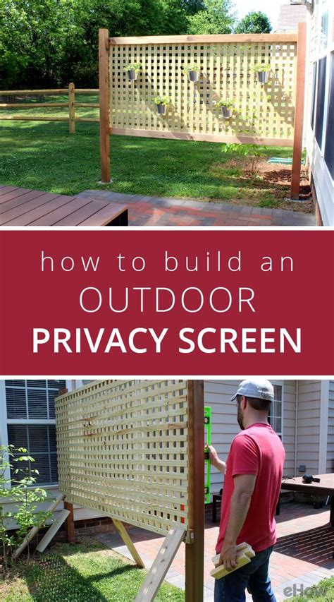 how to create privacy in your backyard best 25 outdoor privacy ideas on pinterest small garden