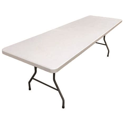 8 rectangular banquet resin table at menards 174