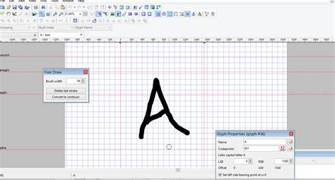 font untuk membuat e ktp cara membuat font sendiri dengan font creator desain zain