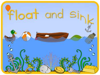 What Is Floating And Sinking by Float And Sink Poster By Blue Orange Teachers Pay