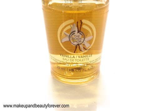 The Bodyshop Vanilla Edt 30ml the shop vanilla eau de toilette review
