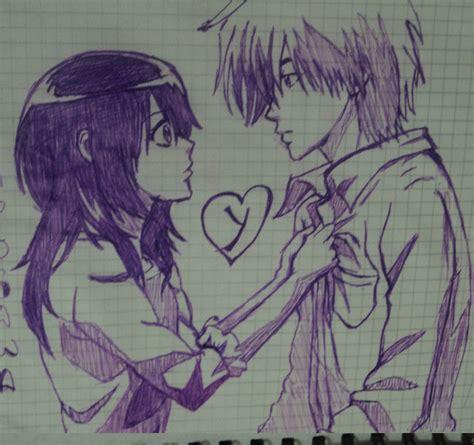 imagenes a lapiz de amor anime imagenes de amor animes dibujos imagui