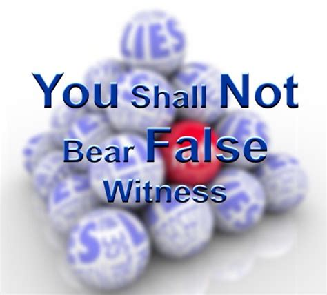 definition borne false witness you shall not bear false witness bible lesson and life