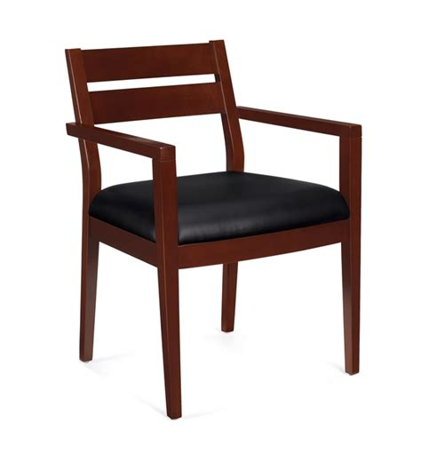 Guest Chairs by Nationwide Office Furniture Cordovan Wood Frame Guest