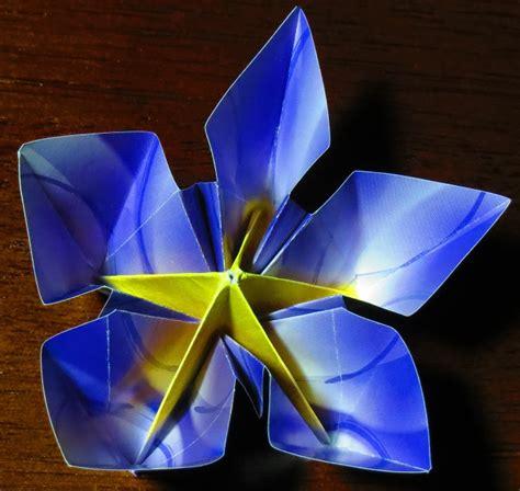 Origami 5 Petal Flower - 5 petaled flower printable origami