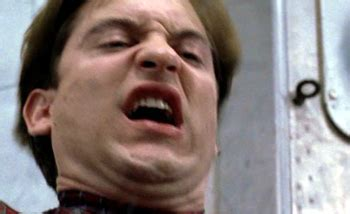 Tobey Maguire Face Meme - avi arad doesn t want his precious spider man in the avengers