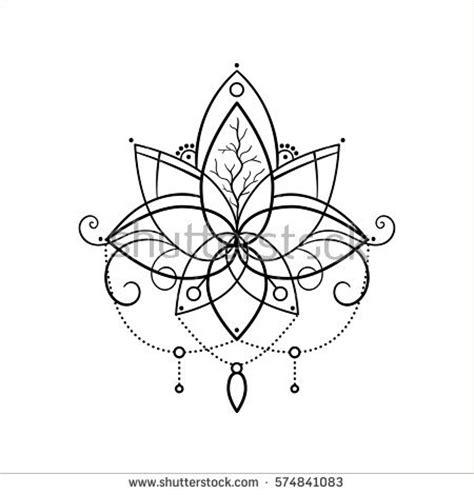 lotus tattoo vector lotus vector tattoo www pixshark com images galleries