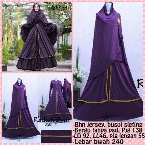 Yunia Bergo Salem 14 best fashion muslim murah info order via admin wa