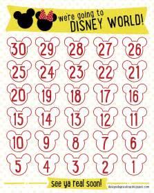 disney countdown calendar template search results for disney countdown calendar printable