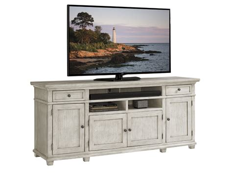 bedroom media console oyster bay kings point large media console lexington home brands