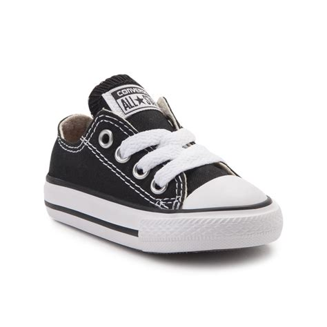 infant converse chuck all lo sneaker black