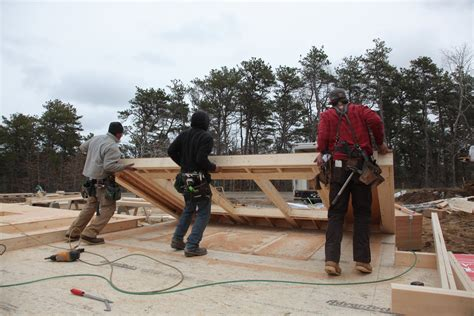 building  raising exterior walls jlc  framing