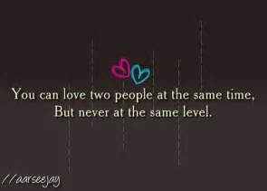 In Love With Two People Quotes by Quotes About Loving Two People At Same Time Quotesgram