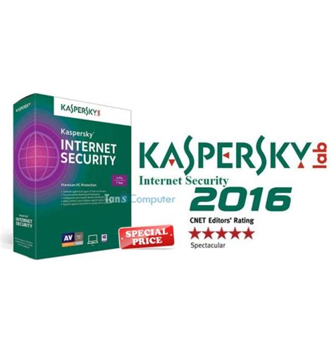 Kaspersky Security Kis 1 User 2016 Kaspersky Security 2016 3 User 1 Year Tans