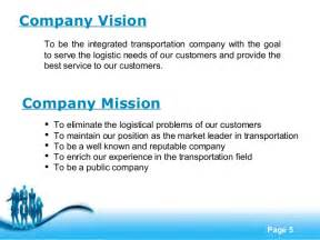 company profile sample interestingpage