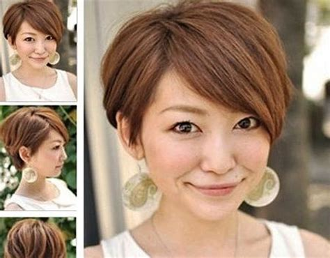 Top 100 Short Hairstyles For Round Faces 2018   Hairstyles