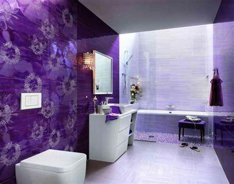 deep purple bathroom mod 232 le salle de bain moderne quelques id 233 es fascinantes