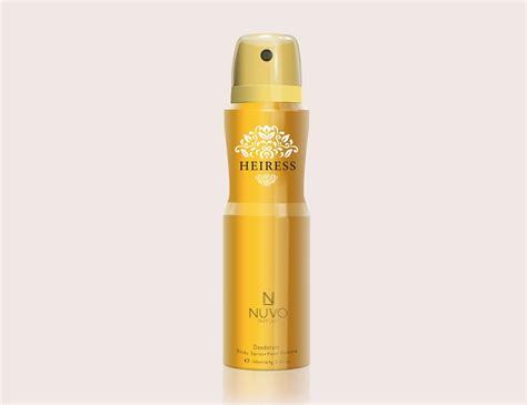 Parfum Heiress heiress by nuvo parfums 100ml deodorant spray