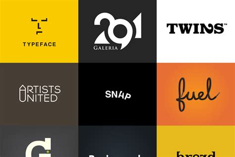 design font based logo 50 simple yet clever logo designs for inspiration and ideas
