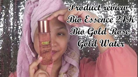 Bio Essence 24k Bio Gold Water product review bio essence 24k bio gold gold water