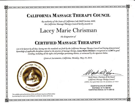 for therapy certification certifications and affiliations