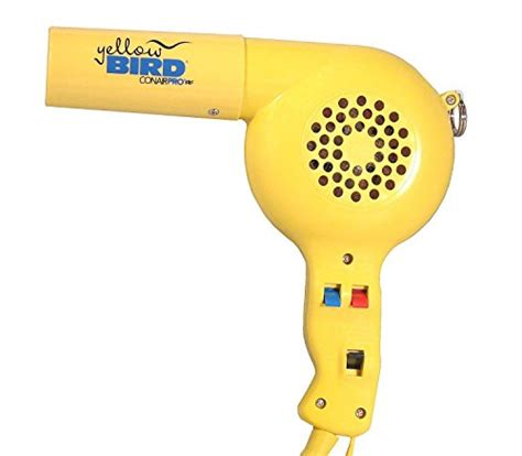 Conair Hair Dryer Yellowbird conair yb075w hair dryer 1875w yellow bird