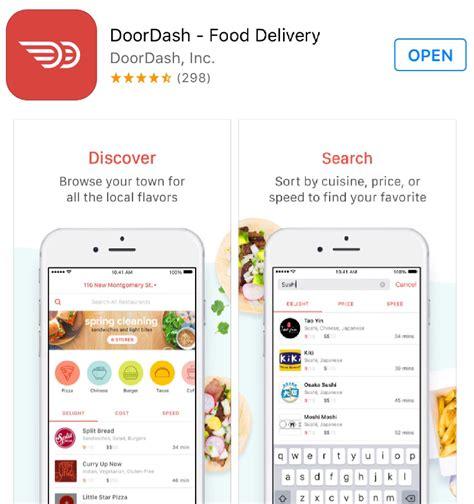 doordash restaurant service doordash restaurant delivery service app website