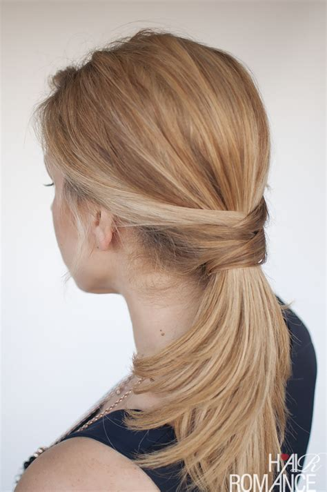 ponytail hairstyles games 3 chic ponytail tutorials to lift your everyday hair game
