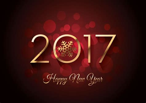 Terbang New Year 2017 2017 happy new year greeting vector image 1940325 stockunlimited